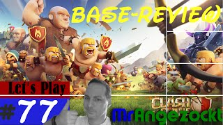 Let's Play Clash of Clans #77★ Besuche / Base-Review! ★COC [Android, HD+, deutsch]