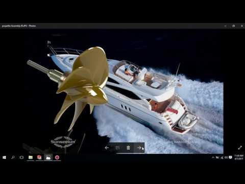 Ship Propeller Assembly #oprecmecc2017