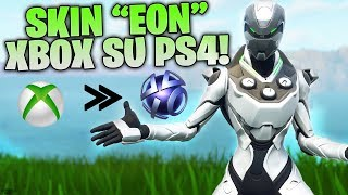 "MEGA VITTORIA REALE CON LA SKIN ESCLUSIVA ""EON"" DI XBOX SU PS4! - FORTNITE HIGH KILL GAME"