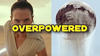 Rey MIGHT Lift The Death Star In Episode 9?