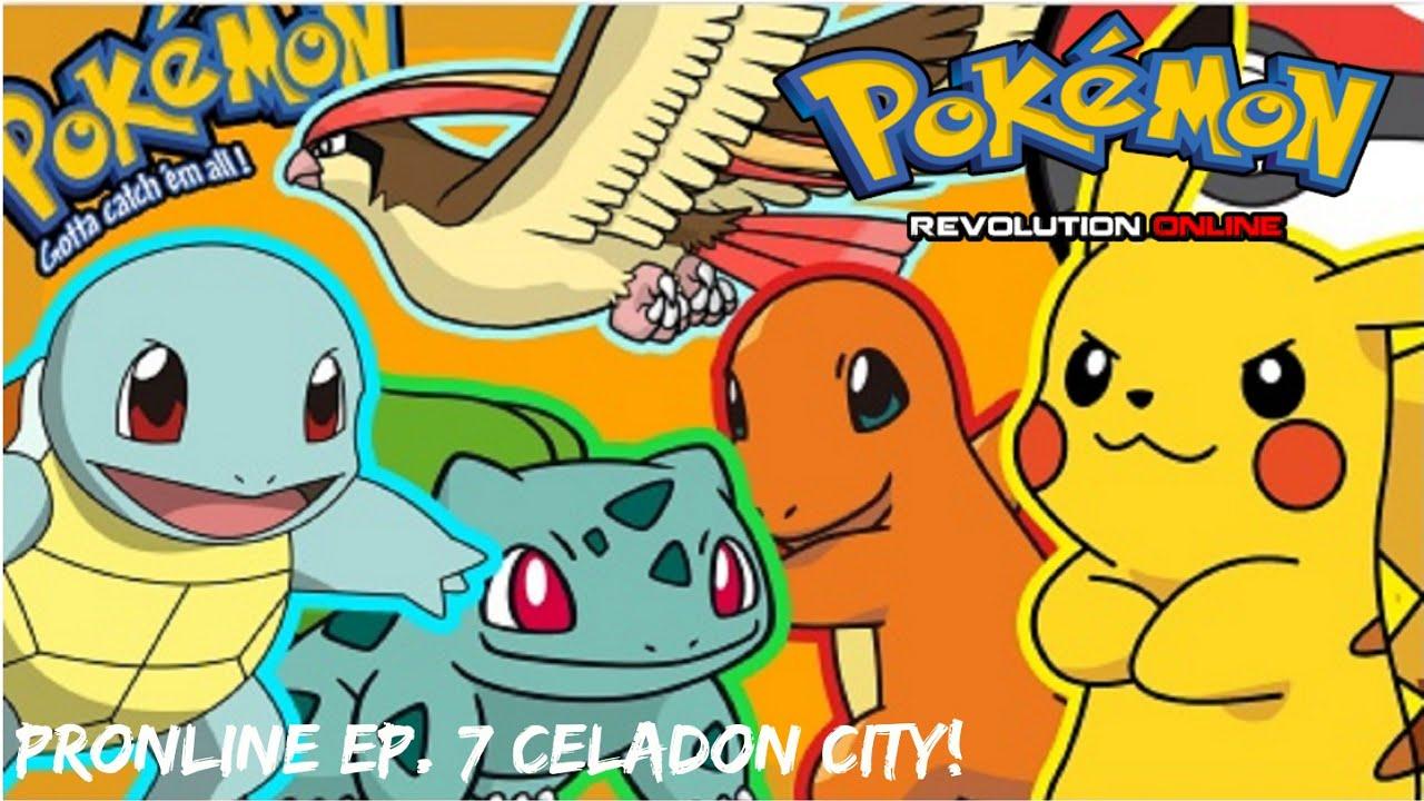 Pokemon Revolution Online - EP. 7 Lemon-aid/Celadon Badge #4 - YouTube