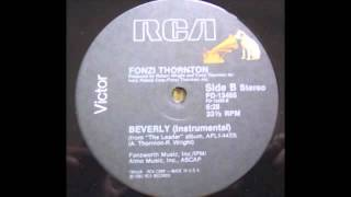 Fonzi Thornton - Beverly (Instrumental) [RCA Victor, 1983]
