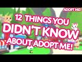 Gambar cover 👀 12 Things You DIDN'T KNOW about Adopt Me! on Roblox 🙊