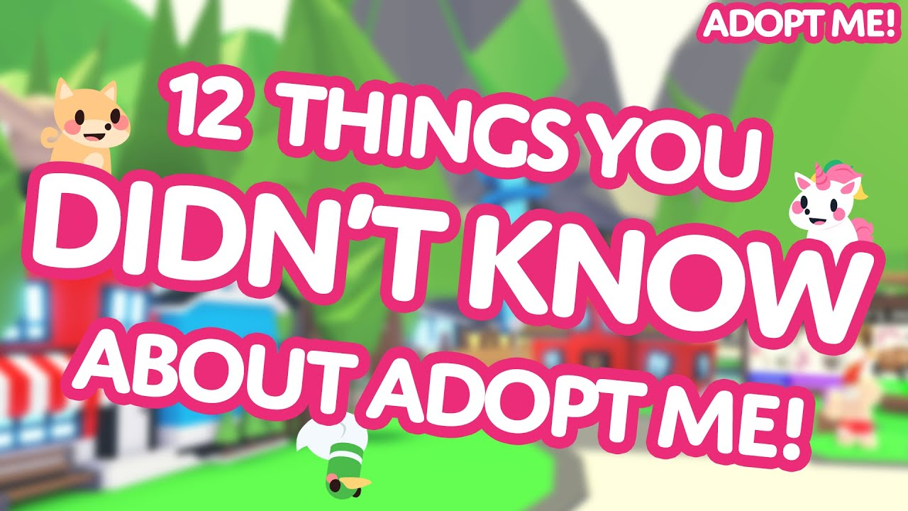 Download 👀 12 Things You DIDN'T KNOW about Adopt Me! on Roblox 🙊