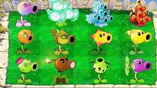 All Pea PvZ vs 99999 All Zombie PvZ Plants vs Zombie
