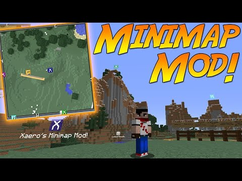 Mini Mapa MOD JourneyMap Mod Para Minecraft Como - Mini map para minecraft 1 10 2