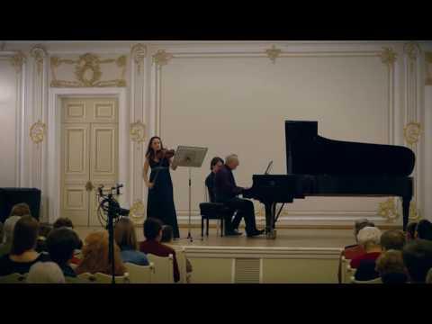 Maria Shalgina, Ivan Mikhailov: RAVEL VIOLIN SONATA Nr. 2, G Major. Мария Шалгина: Равель. Соната №2