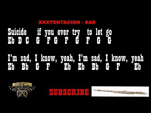 XXXTENTACION - SAD (Flute Notes) {Rudeway}