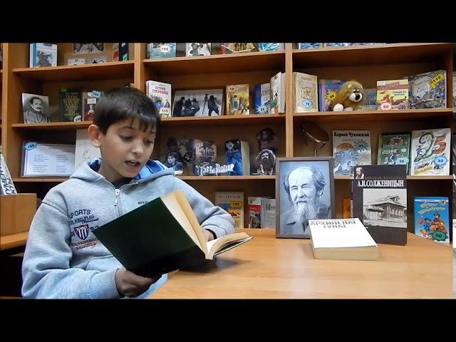 Изображение предпросмотра прочтения – АртемКорчагин читает произведение «Крохотки: Шарик» А.И.Солженицына