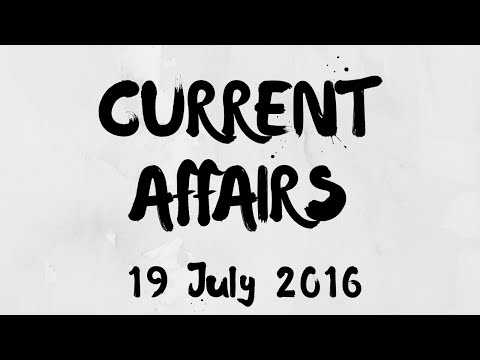 Current Affairs 19 July 2016 : Paul Romer as Chief Economist