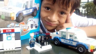Unboxing Lego City Bootleg Police Pursuit by EMCO Bricks