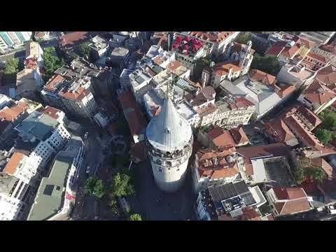 Istanbul aerial view, drone view Awome