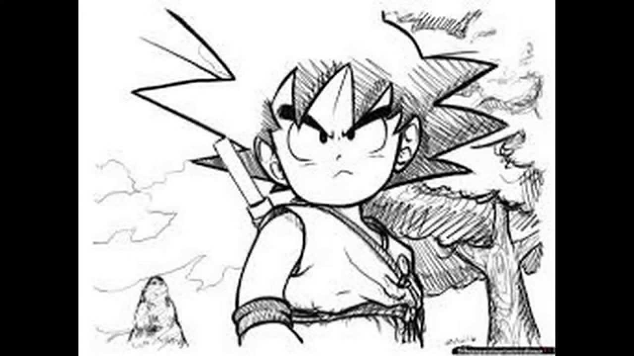 Pack De Dibujos De Dragon Ball Z (link Por Mediafire