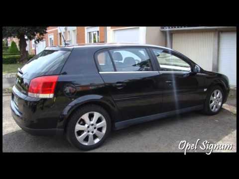 Opel Signum 22 Dti Sport Youtube