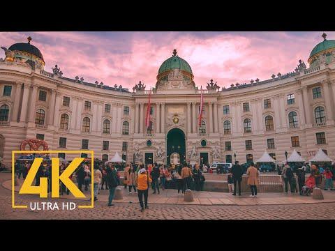4K Vienna, Austria - Travel Journal - 4K Urban Documentary Film - 1 HR