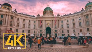 4K Vienna, Austria - Travel Journal - 4K Urban Documentary Film - 1 HR