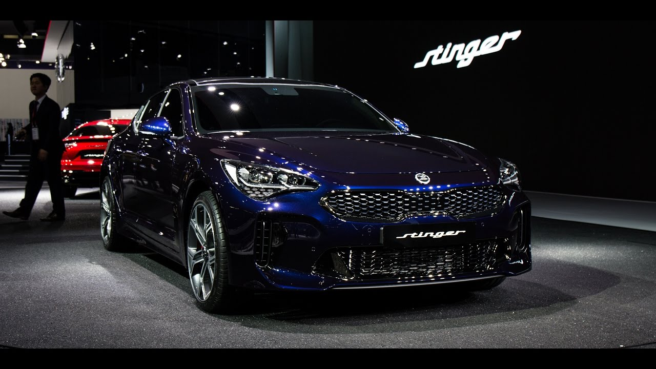 Kia Stinger at Seoul Motor Show [2017] 기아 스팅어 k8 كيا ...