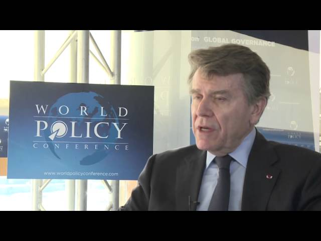 World Policy Conference 2013 - Thierry de Montbrial