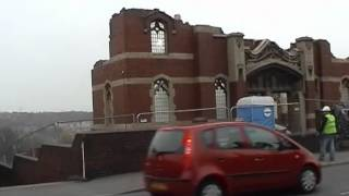 Linbro Demolition - Demolition of the United Reformed Church, Kimberworth, Rotherham Part 5