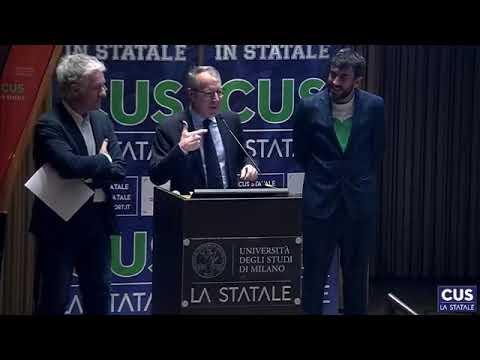 Università degli Studi di Milano - Premiazioni atleti & presentazione CDF 2019