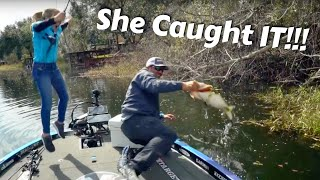 Caught on Film - Hilary's Biggest Fish Ever!