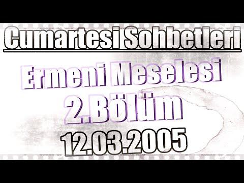 Ders 7, Ermeni Meselesi 2, Üstad Kadir Mısıroğlu, 12.03.2005