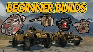 5 BUDGET BUILDS FOR NEW PLAYERS - Crossout gameplay