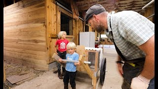 boy-built-a-mobile-chicken-coop-a-four-year-old-can-move