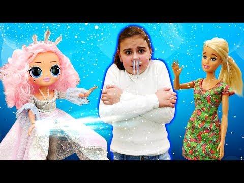 Лол Кристал Стар и Барби - Два испытания от Lol Crystal Star. Мультики для девочек