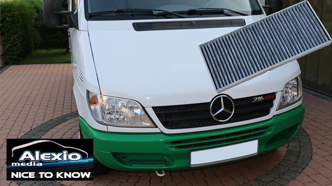 Mercedes Sprinter Pollenfilter Innenraumluftfilter