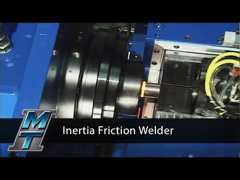 Inertia Friction Welder for Automotive Airbag Gas Generators - Model 120Bx