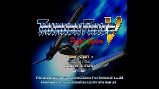 PSX Longplay [043] Thunder Force V - Perfect System
