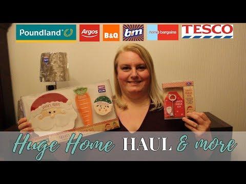 Huge Home & Christmas Haul - October 2017