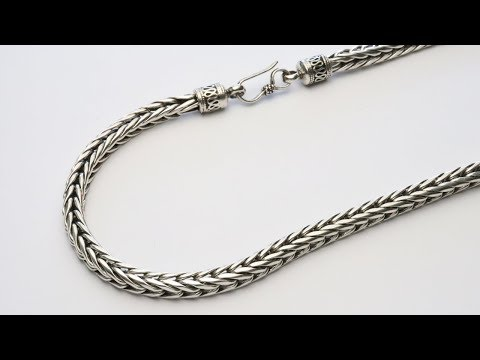 Sterling Silver Chain / 925 / 5.7 Mm