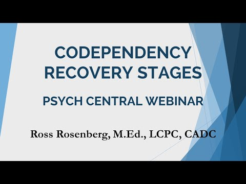 Codependency Recovery Stages. Full Psych Central Webinar. Relationship Advice.Narcissism Expert