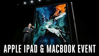 Apple iPad Pro and MacBook Air event in 9 minutes
