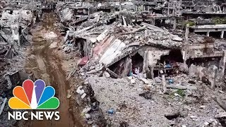 Destruction Of Marawi: Ruins Of City Ravaged By ISIS In Philippines | NBC News