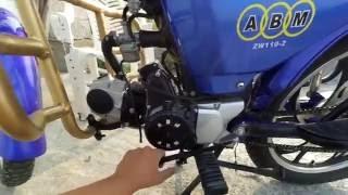 Замена и чистка фильтра на мопеде Alpha 110 .