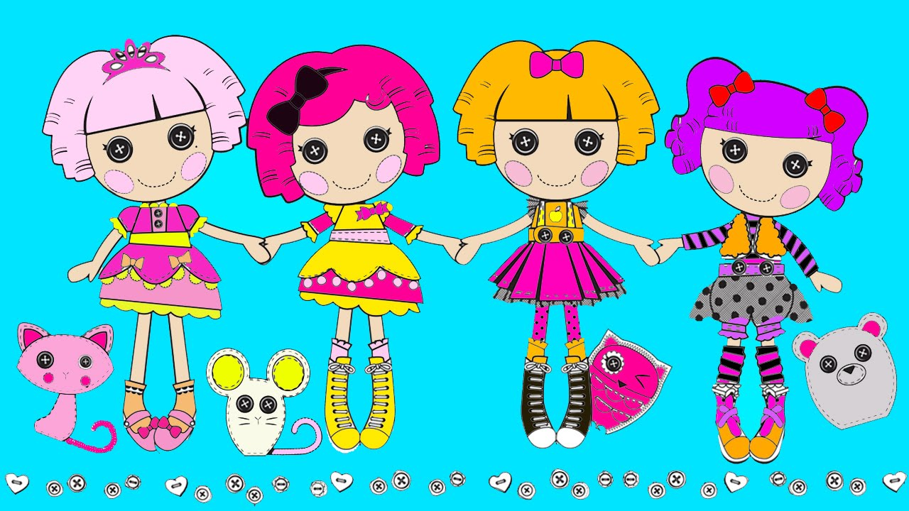 lalaloopsy babies coloring pages - photo#34