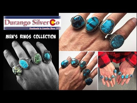 Mens Ring Collection By Durango Silver Co.