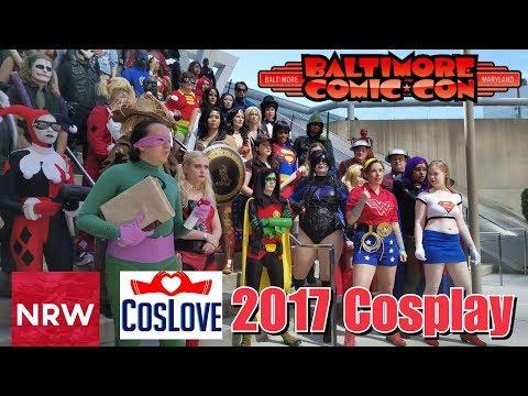NRW & CosLove! Baltimore Comic-Con 2017 Cosplay #Cosplay #NewReleaseWednesday #NRW