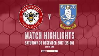 Match Highlights: Brentford v Sheffield Wednesday