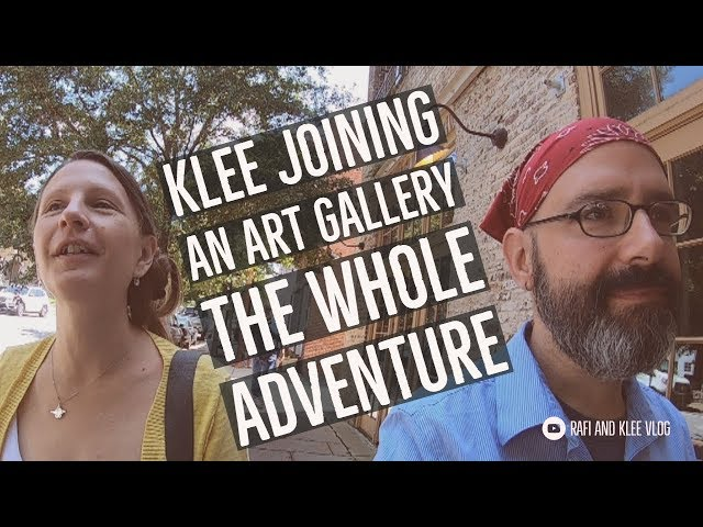 Klee Joining An Art Gallery The Whole Adventure