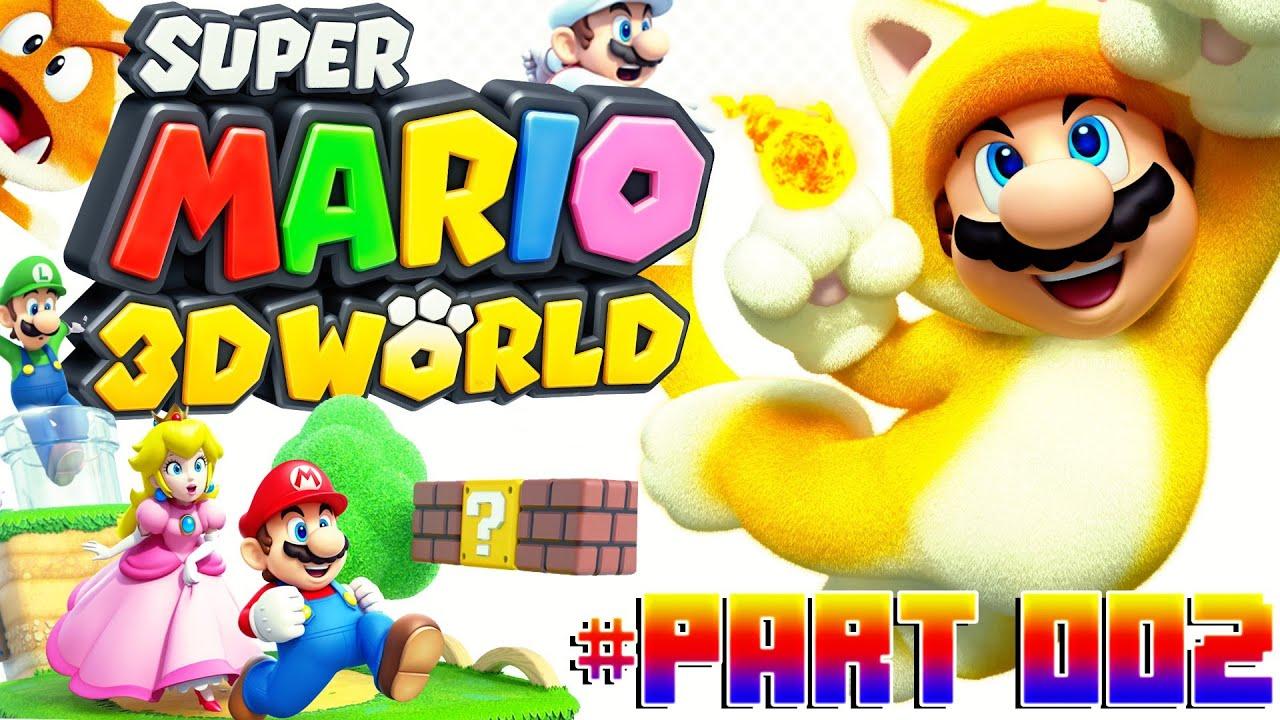 Lets Play Super Mario 3D World Part 2: Die Football-Kröte