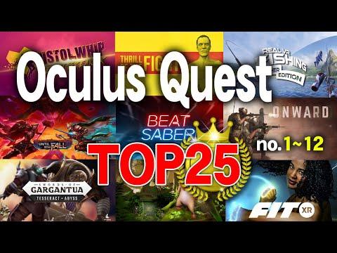 【Oculus Quest 2】1年半クエストを遊び倒した猿頭が選んだソフト25選/1位~12位【VR】