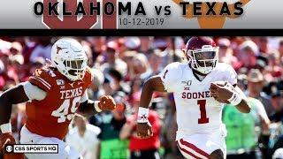 Oklahoma vs. Texas Breakdown: Jalen Hurts & CeeDee Lamb lead Sooners to rivlary win | CBS Sports HQ