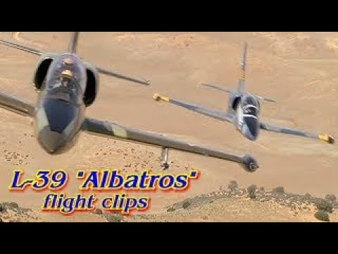 "L-39 ""Albatros"" Jet Flight Footage"