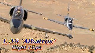 """L-39 """"Albatros"""" Jet Flight Footage"""