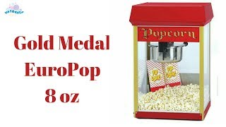 Обзор на попкорн аппарат Gold Medal EuroPop