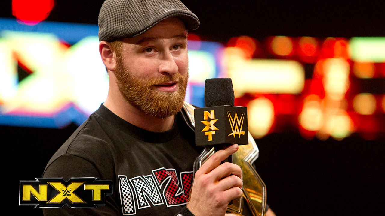 Sami Zayn returns and discusses a title rematch with Adrian Neville - WWE  NXT, January 8, 2015 - YouTube
